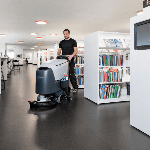 Nilfisk SC500 cleaning library