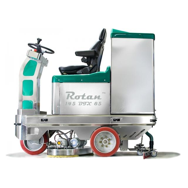 Gmatic Rotan 145 BTX 85 Scrubber Dryer Side