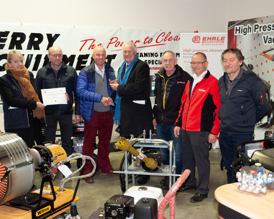 Perry Equipment Win Prestigious Award