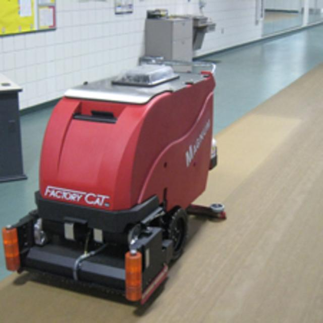 Magnum Walk Behind Scrubber Sweeper